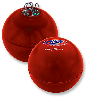 Picture of Clip Dispenser Ball™, Promotional Logo Clip Dispenser Ball