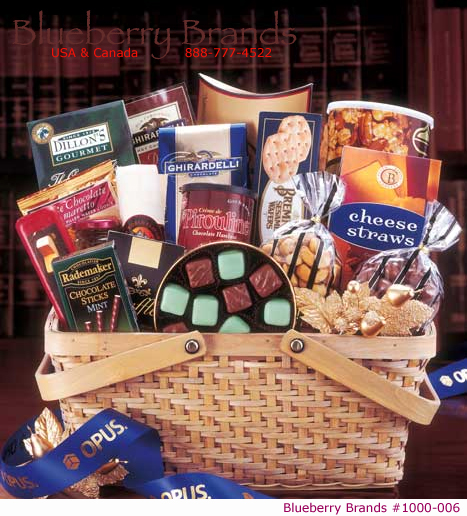 Picture of Grand Gourmet Basket, Promotional Logo Grand Gourmet Basket
