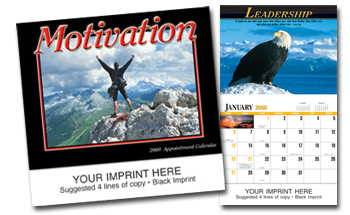 Picture of Motivation Calendar, Promotional Logo Motivation Calendars