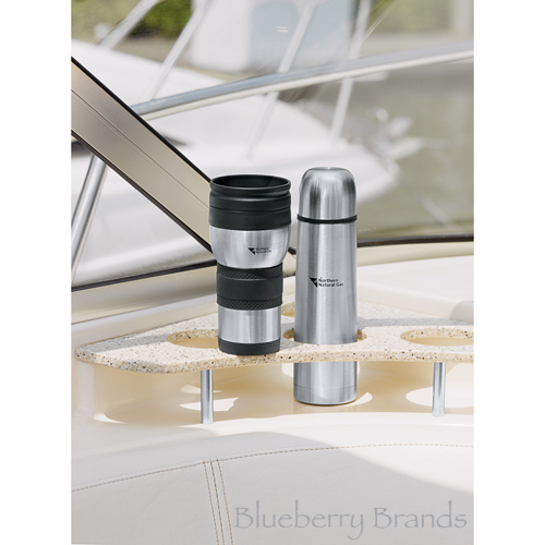 Picture of Auto Perf Tumbler & Flask Gift Set
