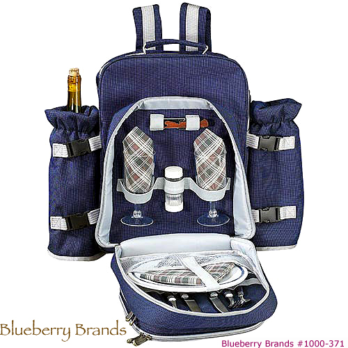 Picture of Traveler Class - 2 Person Picnic Set, Promotional Logo Traveler 2 Person Picnic Set