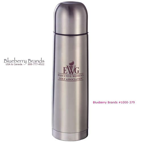 Picture of Silver Bullet Java Flask, Promotional Logo Silver Bullet Java Flasks