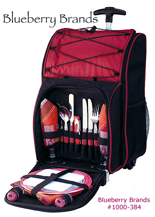Picture of Odyssey Class 2 Person Picnic Sets, Promotional Logo Odyssey 2  Person Picnic Set