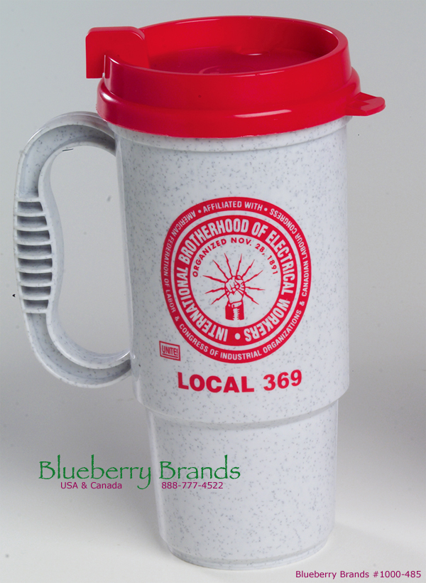 Picture of 16 oz Insulated Auto Mug, Promotional Logo 16 oz Insulated Auto Mug