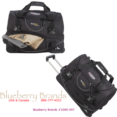 "Picture of High Sierra 22"" Rolling Duffel, Promotional Logo High Sierra 22"" Rolling Duffel Bag"