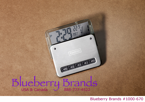 Picture of Contempo Digital Clock/Thermometer, Promotional Logo Contempo Digital Clock Thermometer