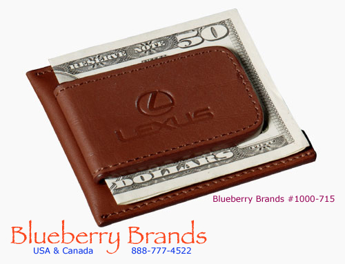 Picture of Cutter & Buck Money Clip Card Case, Promotional Logo Money Clip and Card Case