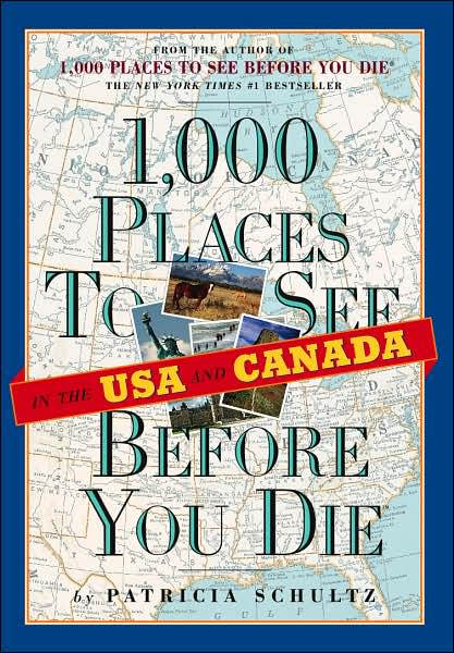 Picture of Gift Book: 1,000 Places to See Before You Die in the USA & Canada.