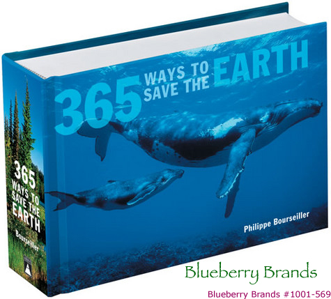 Picture of Gift Book: 365 Ways to Save the Earth, Promotional Logo Gift Books