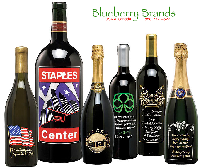 Picture of Corporate Etched Wine - Big Value Wine