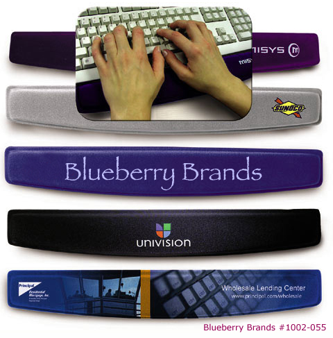 Picture of Memory Foam Keyboard Wrist Rest, Promotional Logo Wrist Rest