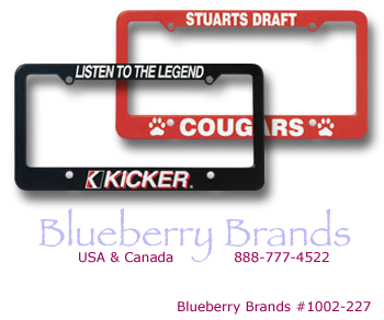 Picture of License Plate Frames