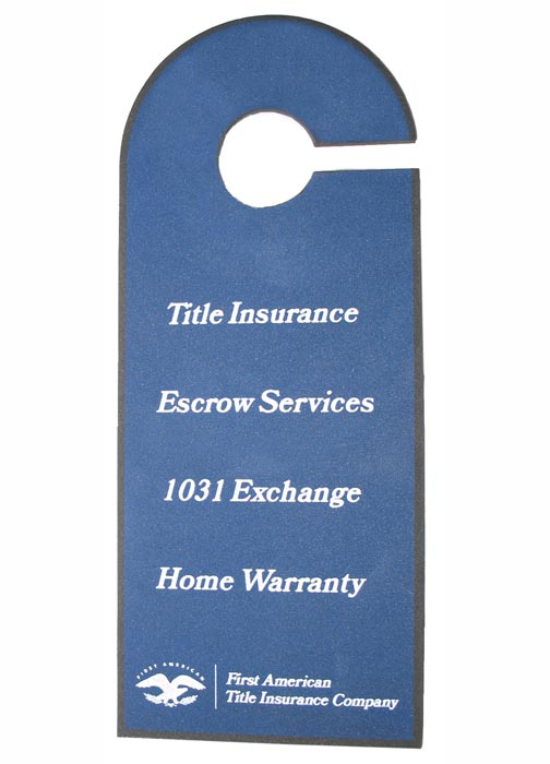 Picture of Foam Door Hanger, Promotional Logo Foam Door Hanger