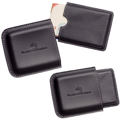 Picture of Metropolitan Business Card Holder, Promotional Logo  Business Card Holders