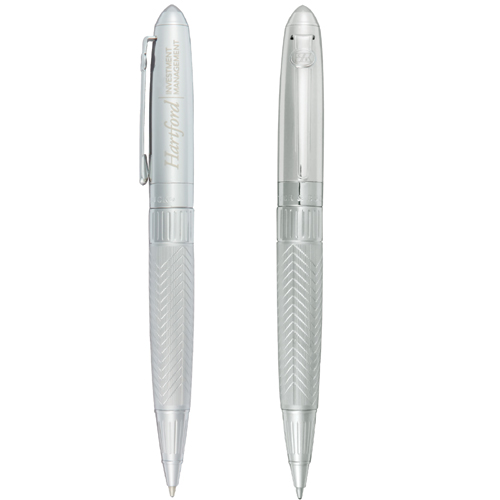 Picture of Cutter & Buck Collectors Edition Twist-Silver Pen