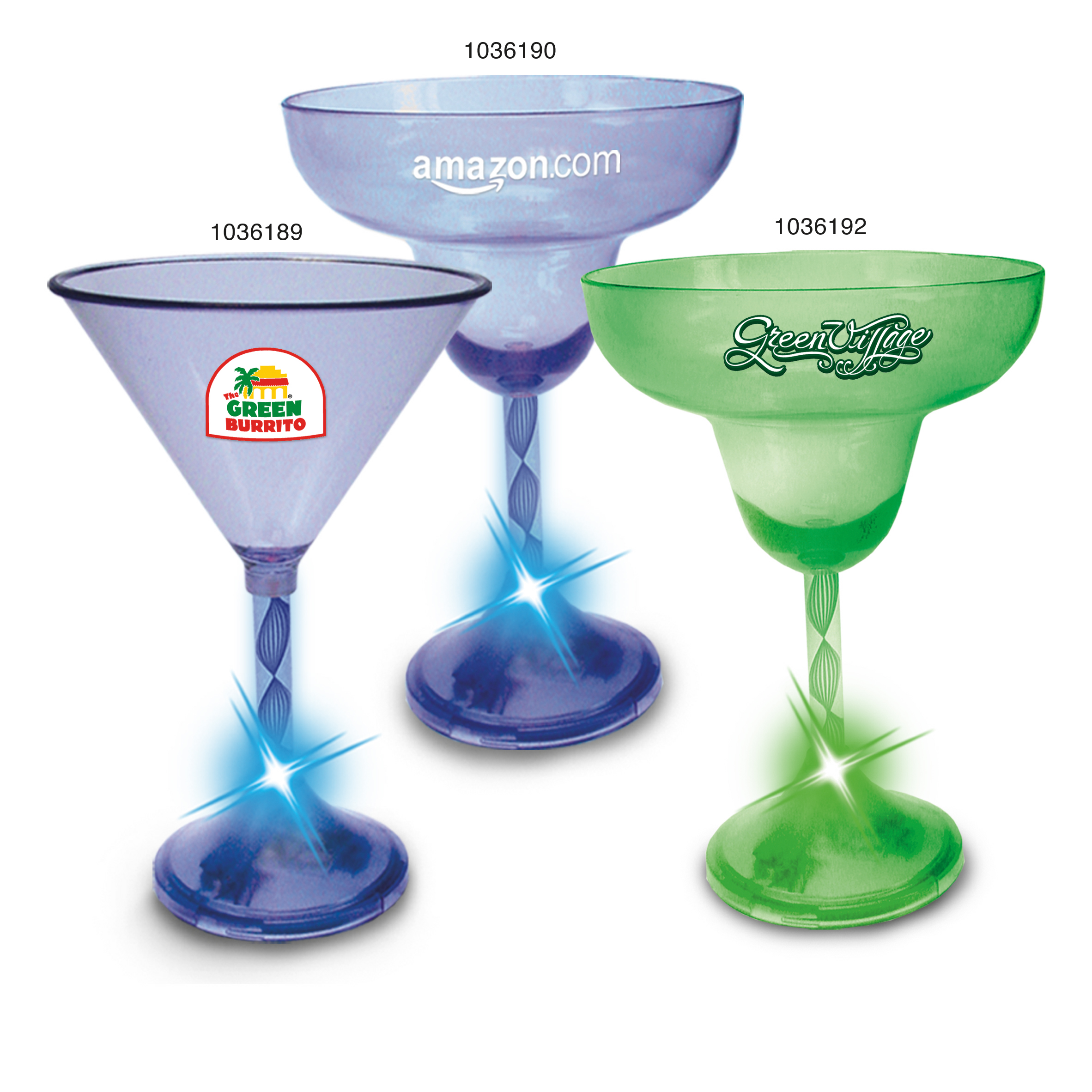 Picture of Classic Light Up Glassware, Promotional Logo Classic Light Up Glassware