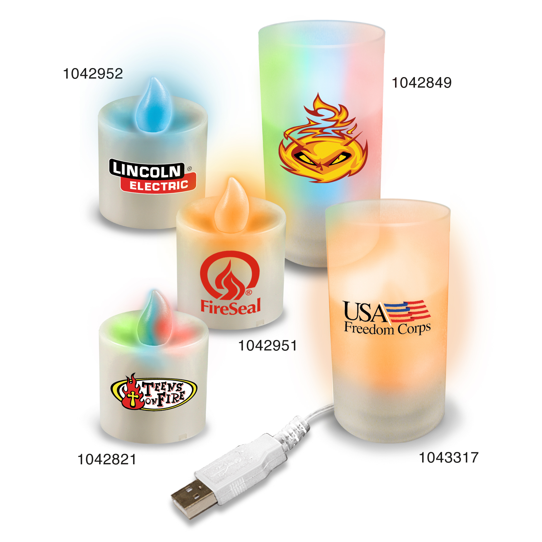 Picture of Votive LED Candles, Promotional Logo Votive LED Candles