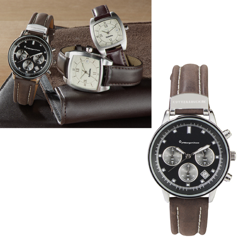 Picture of Cutter & Buck American Classic Chronograph Watch, Promotional Logo Classic Chronograph Watch