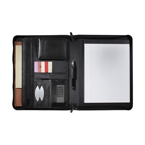 Picture of Distinctions Zippered Padfolio