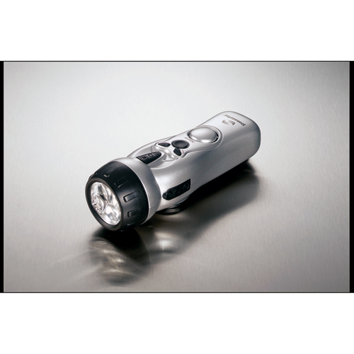 Picture of Dynamo Multi-Function Flashlight, Promotional Logo Dynamo Multi-Function Flashlight