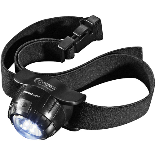 Picture of Garrity 3 L.E.D. Headlamp 2 Lithium Battery, Promo Logo Garrity 3 L.E.D. Headlamp Flashlights
