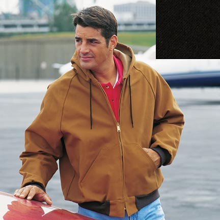 Picture of Cumberland Hooded Canvas Duck Jacket, Promotional Logo Cumberland Hooded Canvas Duck Jacket