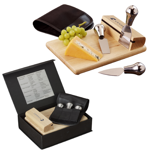 Picture of The Entertainers Wine & Cheese Set