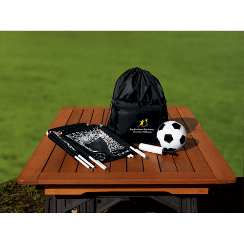 Picture of Gameday Outdoor Soccer Set, Promotional Logo Gameday Outdoor Soccer Set