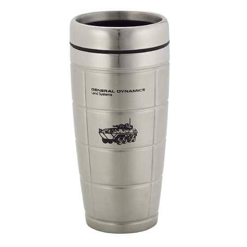 Picture of Icon Stainless Steel Grid Tumbler, Promotional Logo Icon Stainless Steel Grid Tumbler