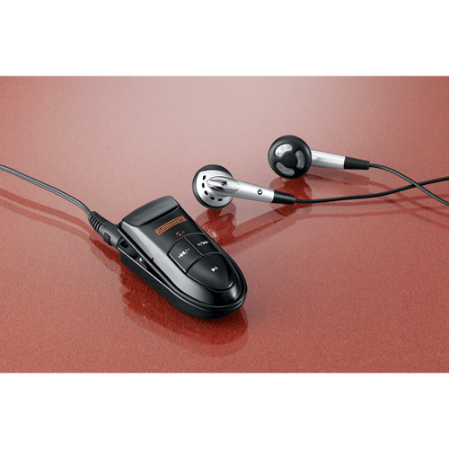 Picture of Quick Clip MP3 Player V.2.0 512MB, Promotional Logo Quick Clip MP3 Player