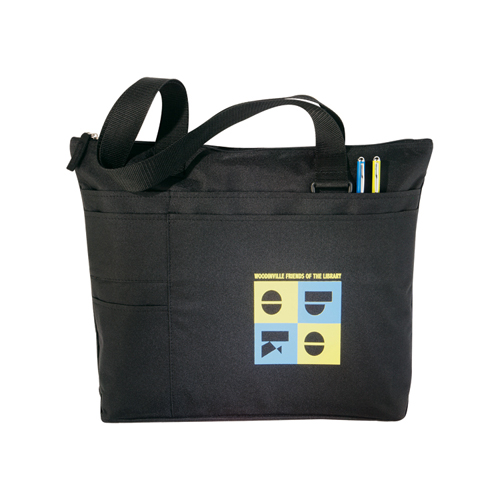 Picture of Snap Meeting Tote, Promotional Logo Snap Meeting Tote