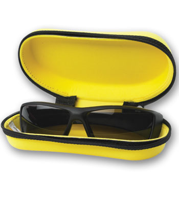 Picture of The custom imprinted soft-support sunglass Holder, Promotional Logo Sunglass Holder