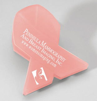 Picture of Awareness Ribbon Mega Magnet Clip, Promotional Logo Awareness Ribbon Mega Magnet Clip