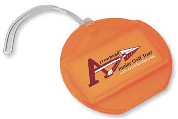 Picture of Endeavor Luggage Tag, Promotional Logo Endeavor Luggage Tag