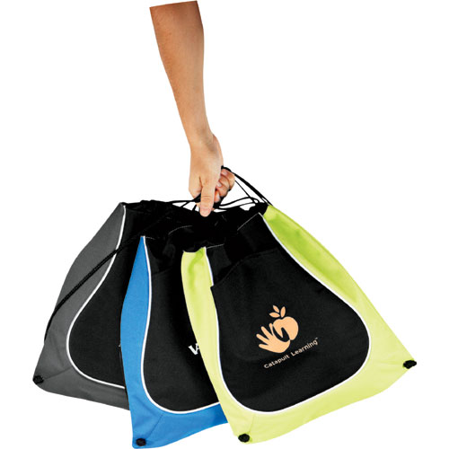 Coil Cinch Tote, Promotional Logo Coil Cinch Tote
