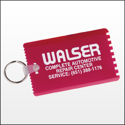 Picture of Credit Card Scraper with Key Ring