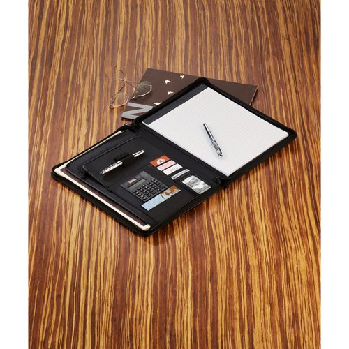 Picture of Links Zippered Padfolio