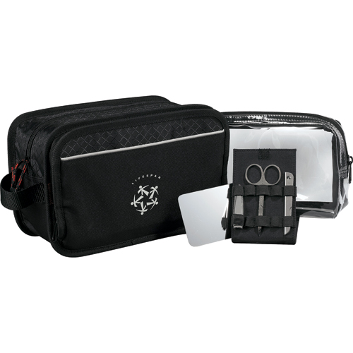 Picture of Triton Dopp Kit with Accessories, Promotional Logo Triton Dopp Kit with Accessories