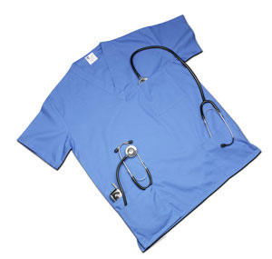 Picture of Women's 4 Pocket Scrub Top