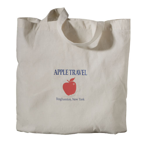 Picture of Classic Cotton Meeting Tote, Promotional Logo Classic Cotton Meeting Tote