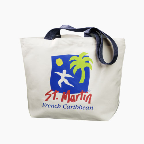 Picture of Classic Cotton Convention Tote, Promotional Logo Classic Cotton Convention Tote