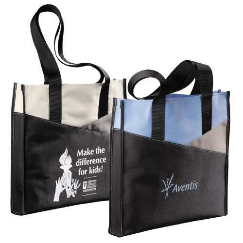 Picture of Horizons Meeting Tote, Promotional Logo Horizons Meeting Tote