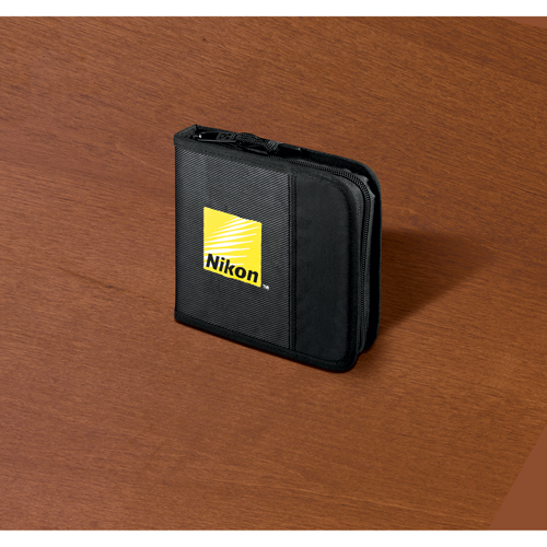 Picture of Case Logic CD Wallet, 16 Disc Capacity, Promotional Logo Case Logic CD Wallet