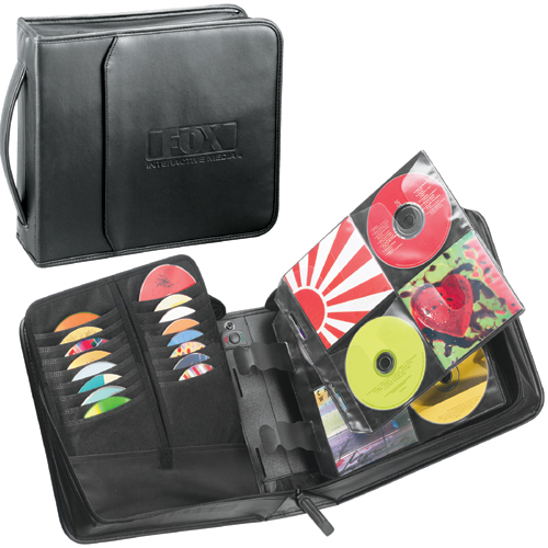 Picture of Case Logic Koskin CD Wallet, 208 Disc Capacity, Promotional Logo Case Logic Koskin CD Wallet