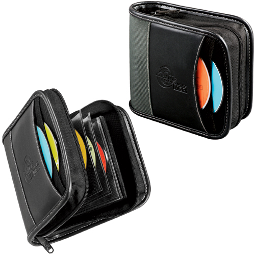 Picture of Case Logic Deluxe Colorado CD Wallet, 34 Disc Capacity, Promotional Logo Colorado CD Wallet
