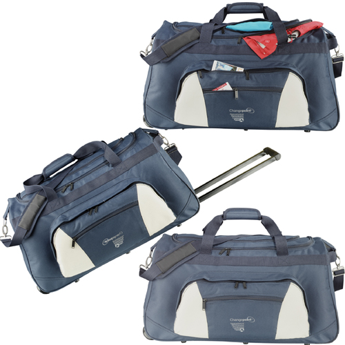 "Picture of Excel 26"" Wheeled Travel Duffel, Promotional Logo Excel 26"" Wheeled Travel Duffel"