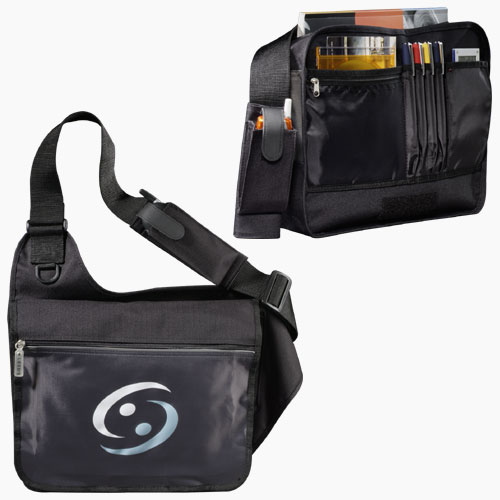 Picture of SafetyTek Messenger Bag, Promotional Logo SafetyTek Messenger Bag