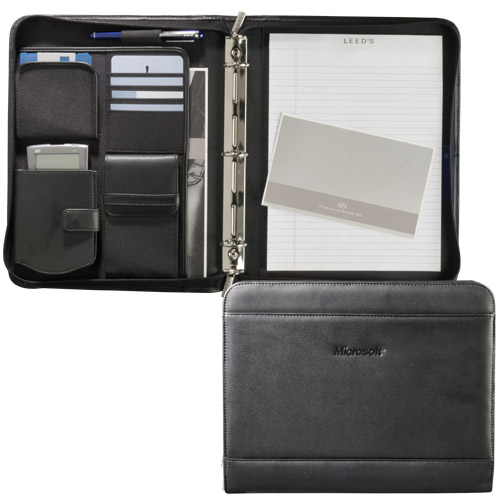 Picture of Millennium Leather Versa-Folio, Promotional Logo Millennium Leather Versa-Folio