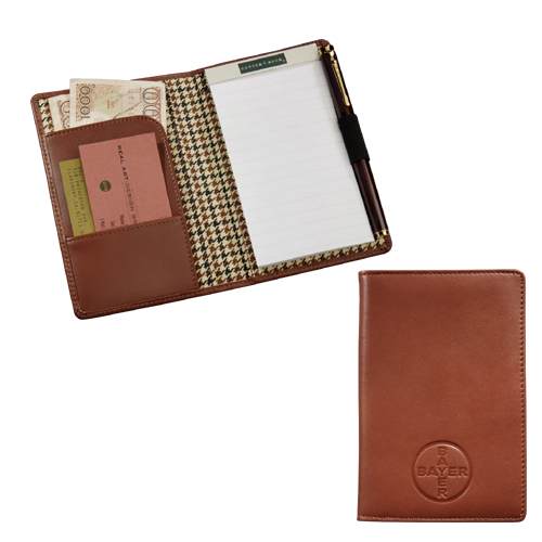 Picture of Cutter & Buck Leather Jotter, Promotional Logo Cutter & Buck Leather Jotter