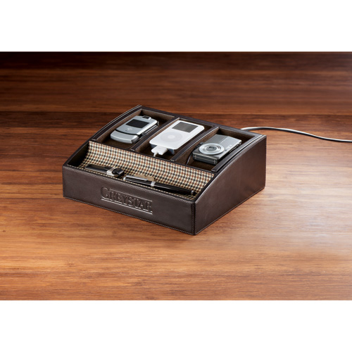 Picture of Cutter & Buck American Classic Desktop Charger Display, Promotional Logo Charger Display